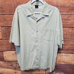 Nike Golf Button Down Shirt Size L